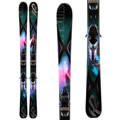 K2 SuperStitious 84 Skis + ERC 11 TC Bindings - Women's 2014