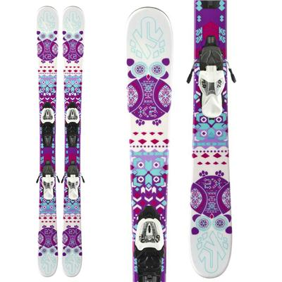 K2 Missy Skis + Fastrak2 4.5 Bindings - Girl's 2014