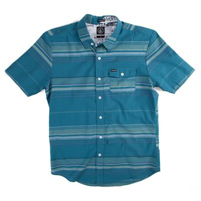 Volcom Peterson Short-Sleeve Button-Down Shirt