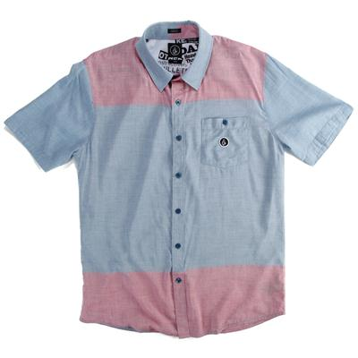 Volcom Barred Short-Sleeve Button-Down Shirt
