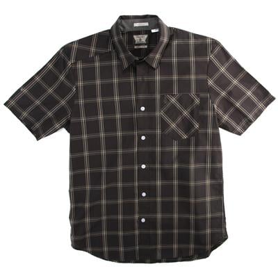 Volcom Why Factor Plaid Short-Sleeve Button-Down Shirt