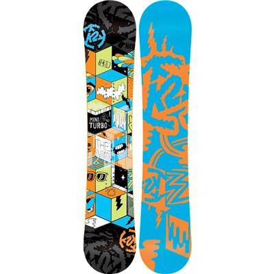 K2 Mini Turbo Snowboard - Boy's 2015