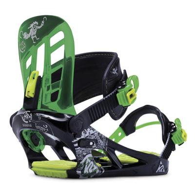 K2 Vandal Snowboard Bindings - Boy's 2015