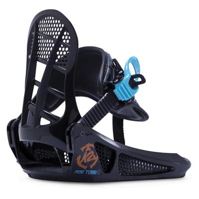 K2 Mini Turbo Snowboard Bindings - Boy's 2015
