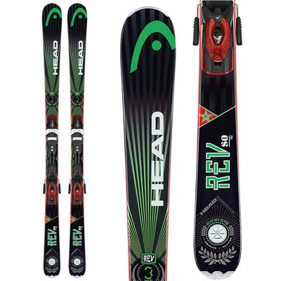 Head REV 80 Pro Skis + PR 11 Bindings 2014