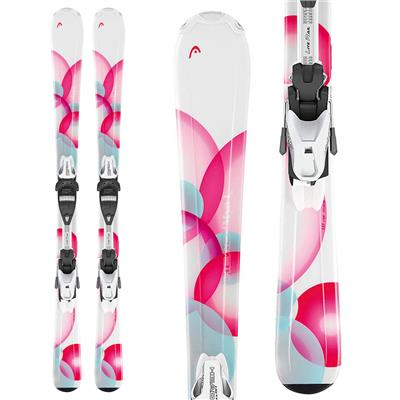 Head MYA No. 1 LR Skis + LRX 7.5 AC Bindings - Girl's 2014