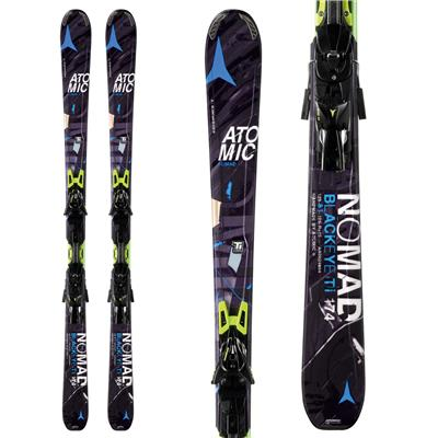Atomic Blackeye Ti Skis + XTO 12 Bindings 2014