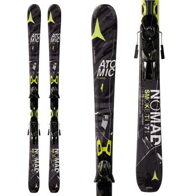 Atomic Smoke Ti Skis + XTO 12 Bindings 2014