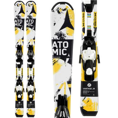 Atomic Vantage Jr. III Skis + EZYTRACK 7 Bindings - Boy's 2014