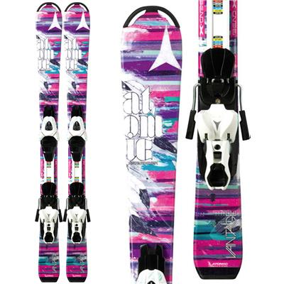 Atomic Vantage Girl II Skis + XTE 4.5 Bindings - Girl's 2014