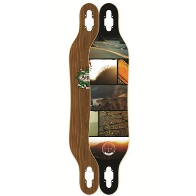 Arbor Axis Walnut Longboard Deck