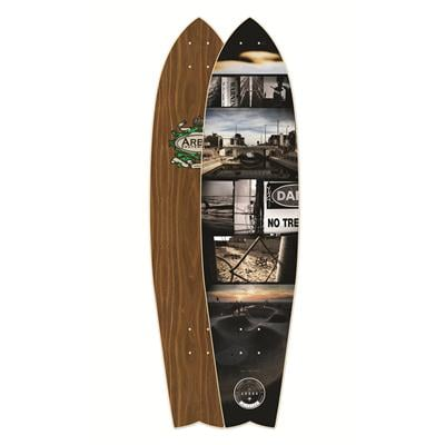 Arbor Mission Walnut Longboard Deck