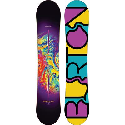 Burton Feelgood Flying V Snowboard - Women's 2014