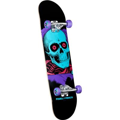Powell Peralta Black Light Ripper Purple Skateboard Complete