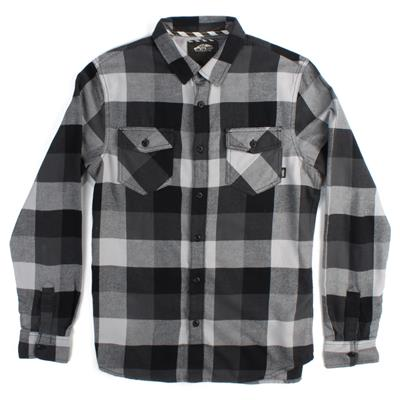 Vans Box Button-Down Flannel Shirt