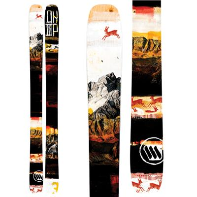 ON3P Caylor Skis 2014