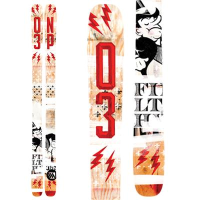 ON3P Filthy Rich Skis 2014