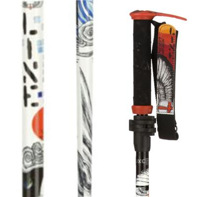 Line Skis Pollard's Paint Brush Adjustable Ski Poles 2014