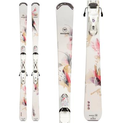 Rossignol Temptation 78 Skis + Xelium Saphir 110 Bindings - Women's 2014