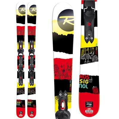 Rossignol Sprayer Pro Skis + Xelium Kid 45 Bindings - Boy's 2014