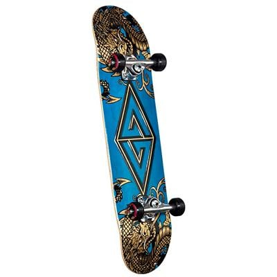 Golden Dragon Two Dragons Skateboard Complete