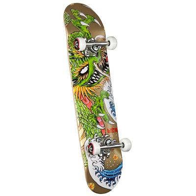 Golden Dragon Caballero Ink Skateboard Complete