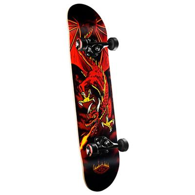 Golden Dragon Flying Dragon Skateboard Complete