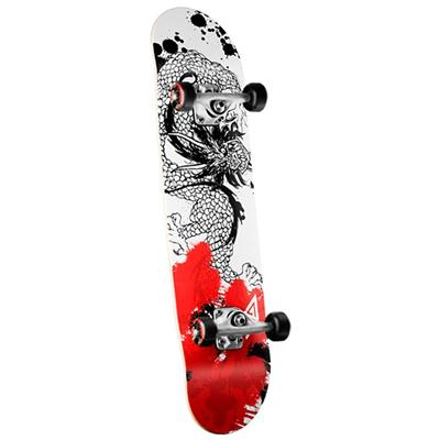 Golden Dragon Samurai Dragon Skateboard Complete