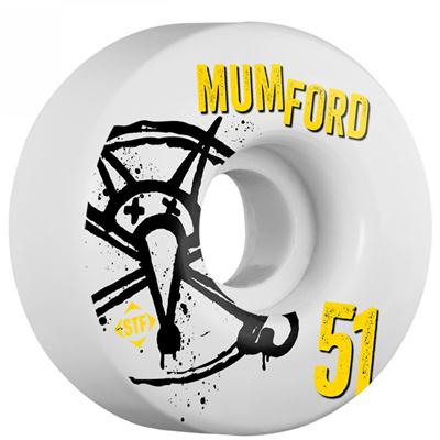 Bones Mumford Number5 STF Skateboard Wheels