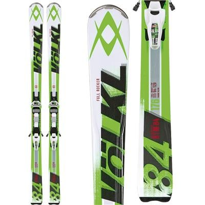 Volkl RTM 84 Skis + iPT Wide Ride 12.0 Bindings 2014