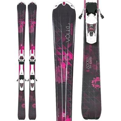 Volkl Adora Skis + Essenza 3Motion TP 10.0 Bindings - Women's 2014
