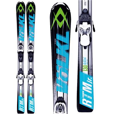 Volkl RTM Jr Skis + 3Motion Jr 4.5 Bindings - Boy's 2014