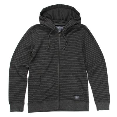 Electric Carbon Slim Fit Zip Hoodie