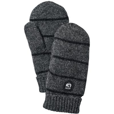 Hestra Striped Wool Mittens - Women's