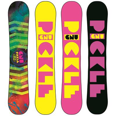GNU Ladies Pickle PBTX Snowboard - Women's 2014