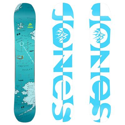 Jones Solution Splitboard - Women's 2014
