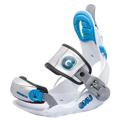 GNU Gnunior Snowboard Bindings - Kid's 2014