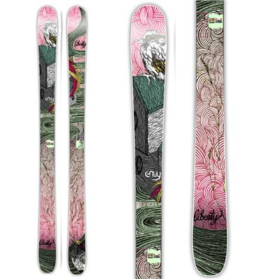 Liberty Envy All Mountain Skis - Women's 2014