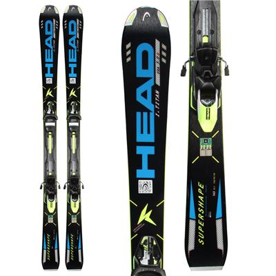 Head iSupershape Titan Skis + PRX 12 Bindings 2014