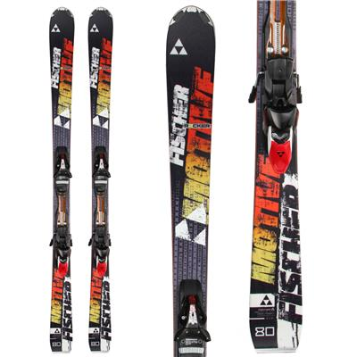 Fischer Motive 80 Skis + RSX 12 Powerrail Bindings 2014