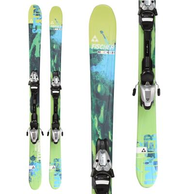 Fischer Stunner Skis + FJ7 AC Jr. Rail Bindings - Boy's 2014