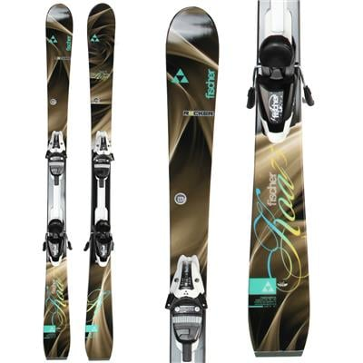 Fischer Koa 75 Skis + V9 MyStyle Bindings - Women's 2014