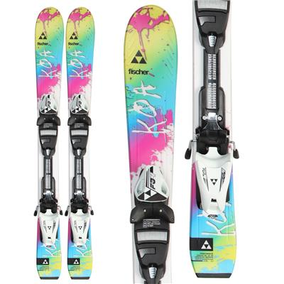 Fischer Koa Jr. Skis + FJ4 AC Jr. Rail Bindings - Girl's 2014
