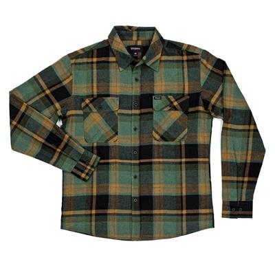 Brixton Bowery Button-Down Flannel Shirt