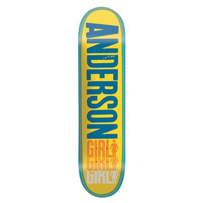 Girl Anderson Triple OG Skateboard Deck