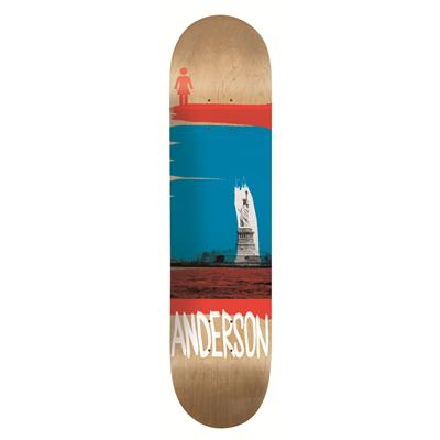 Girl Anderson Darkroom Skateboard Deck