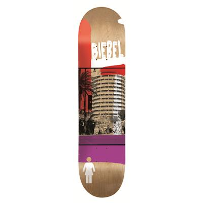 Girl Biebel Darkroom 7.875 Skateboard Deck