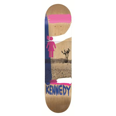 Girl Kennedy Darkroom Skateboard Deck