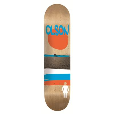Girl Olson Darkroom Skateboard Deck