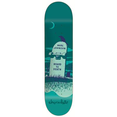 Chocolate M. Johnson Tombstone Skateboard Deck